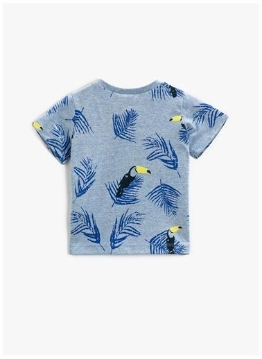 Koton Koton T-Shirt Mavi